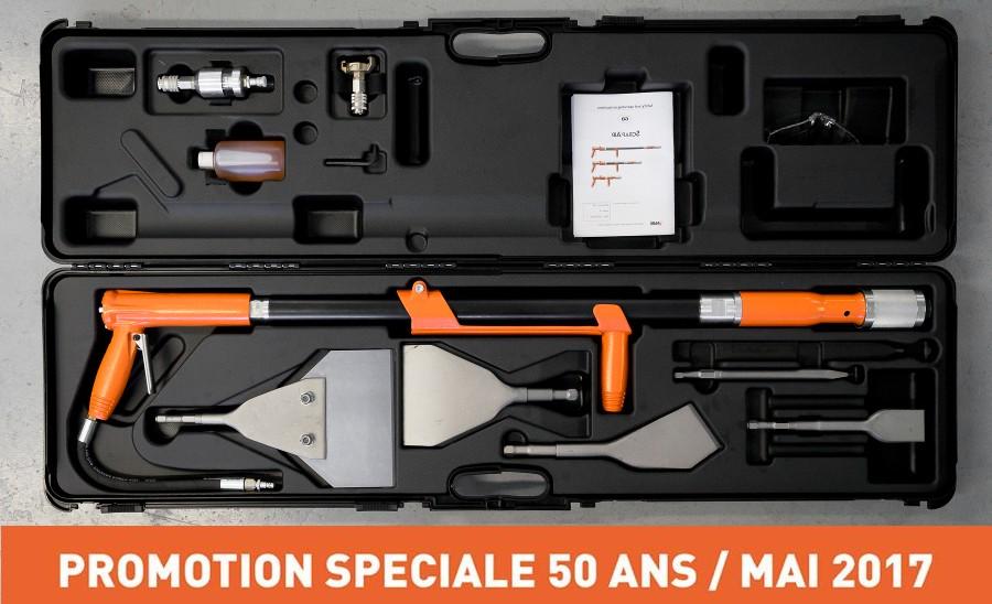 Promotion - Offre spéciale 50 ans - Mai 2017