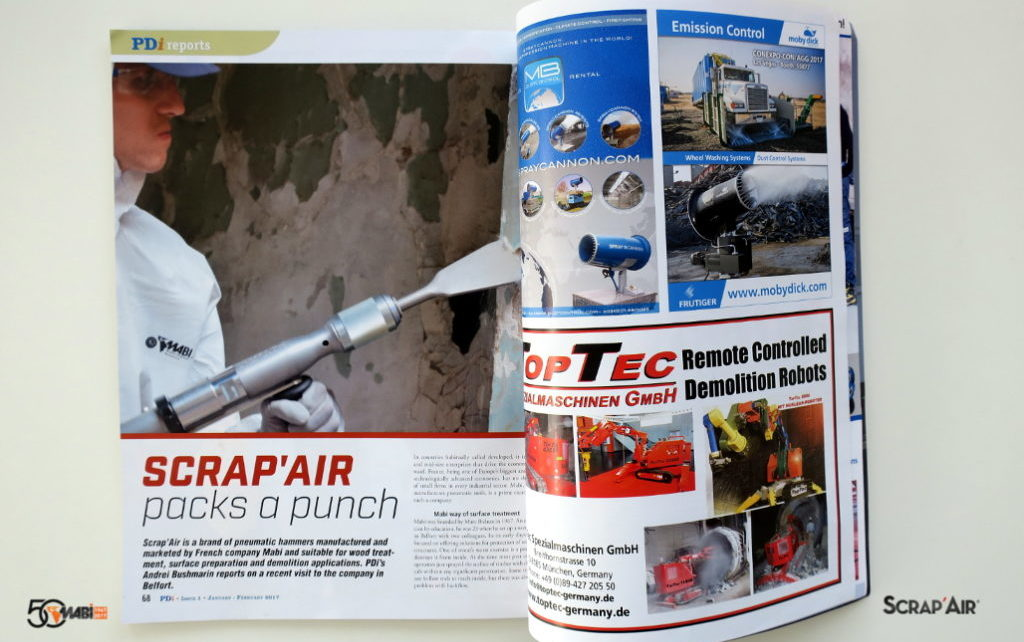 PDi Mag n° 17 - Article Scrap'air