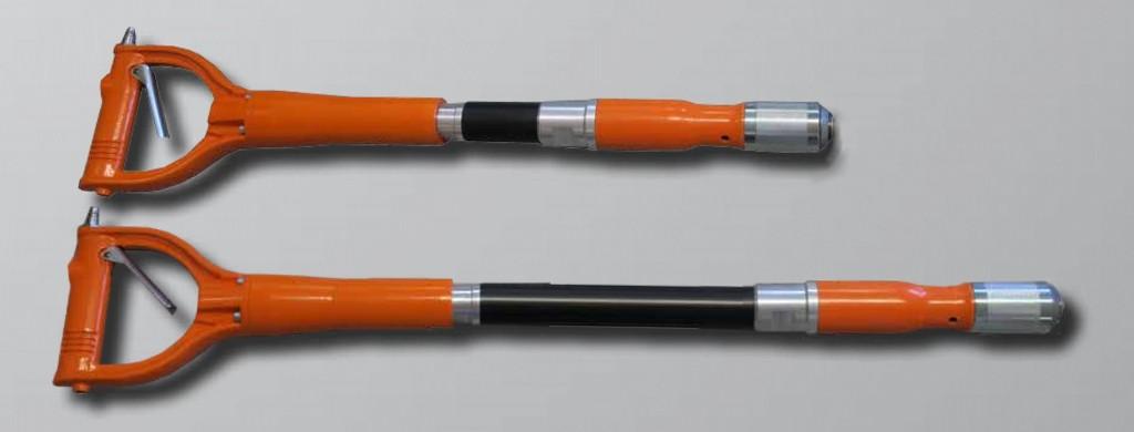 Scrap'Air poignée D, ergonomique et anti-vibratile