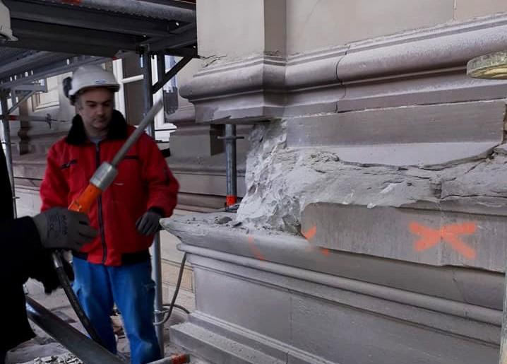 Rénovation de Monument historique (Gare SNCF de Strasbourg)