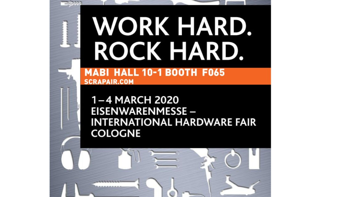 EISENWARENMESSE - INTERNATIONAL HARDWARE FAIR COLOGNE! 2020