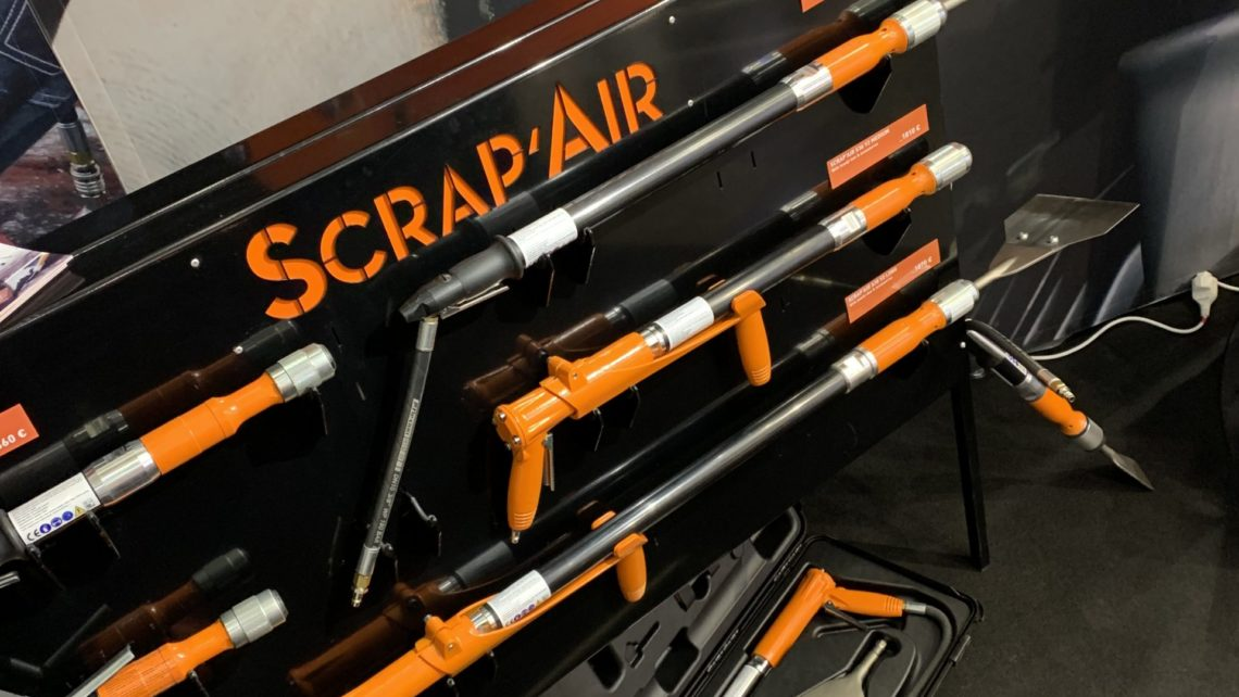 Décapeur Scrap'air outillage ergonomique